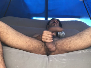 Big Load In My Tent (4K)
